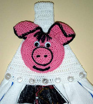 CMPATC034 - Pig Towel Topper