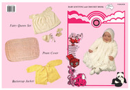 PARK202R Baby Knitting and Crochet Book