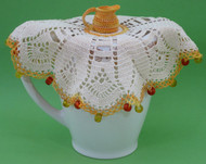 CMPATC080 Jug Cover with Cream Jug Centre
