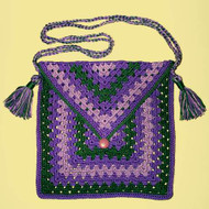 CMPATC029PDF - Granny Square Shoulder Bag