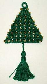 CMPATC026PDF - Christmas Tree Ornament - Beaded Tree