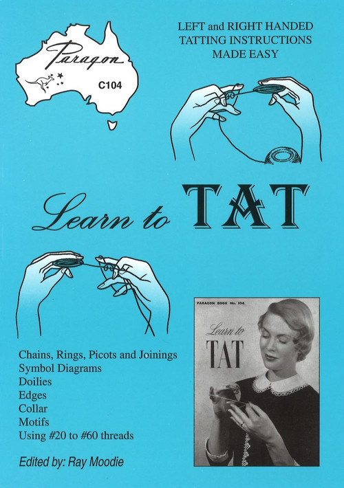 Image of Paragon book PARC104, Learn to Tat, edited by Ray Moodie.