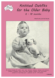 Cover picture of Paragon Knitting Book PARK04R Knitted Outfits for the Older Baby