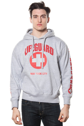 Unisex LIFEGUARD Licensed Grey Pullover Hoodie