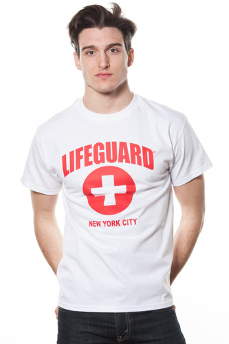 Unisex LIFEGUARD Licensed White T-Shirt