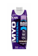 EAS Nutrition Myoplex Original Ready To Drink - RTD- Protein Drink - Chocolate Fudge, (12 Packs of 550ml each)