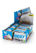 Bpi Sports Best Protein Bar - Vanilla Cupcake (12 Bars In A Pack)