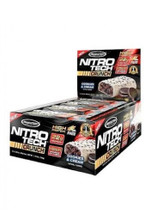 Muscletech Nitrotech Crunch Protein Bar - Cookies & Cream (Box of 12 Bars)