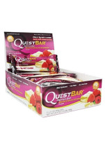 Quest Nutrition Quest Protein Bar - White Chocolate Raspberry (12 bars)