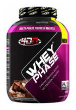 4DN - 4 Dimension Nutrition Whey Phase Protein Powder - Chocolate, 5 Lbs