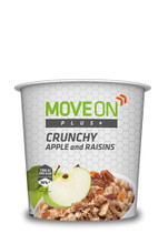 Move On Plus Crunchy 70g  Apple and Raisins