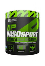 MusclePharm Vaso Sport - Blue Raspberry, 30 Servings
