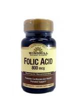 Windmill Folic Acid 800 mcg - 100 Capsules