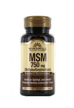 Windmill MSM 750 Mg - 60 Capsules