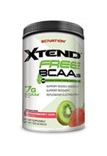 Scivation Xtend Free - Strawberry Kiwi, 30 Servings