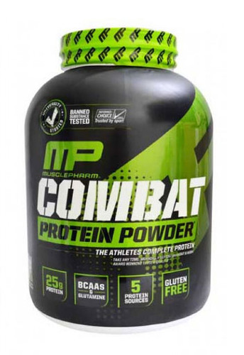 MusclePharm Combat Whey Protein Powder - Chocolate Peanut Butter, 4 Lbs