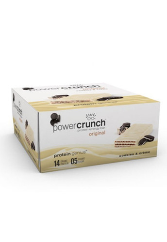 Power Crunch Protein Bar - Cookies Cream (12 Bars)