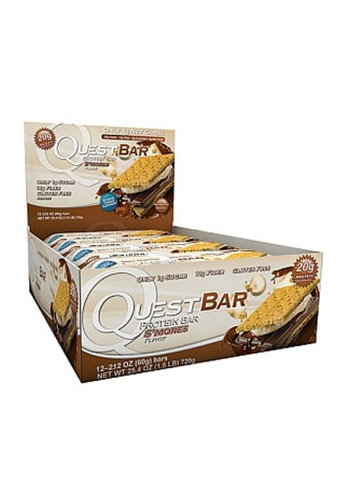 Quest Nutrition Quest Protein Bar - Smores (12 bars)