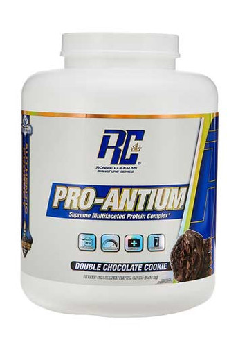 Ronnie Coleman Pro - Antium Protein Powder - Double Chocolate Cookie, 5.6 Lbs