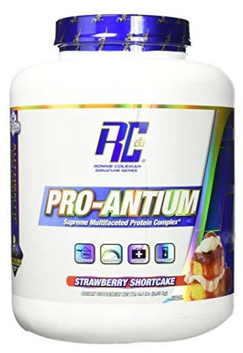 Ronnie Coleman Pro - Antium Protein Powder - Strawberry ShortCake, 5.6 Lbs