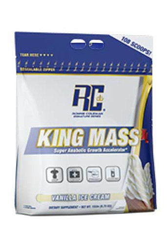 Ronnie Coleman King Mass XL Weight Gainer - Vanilla Ice Cream, 15 Lbs