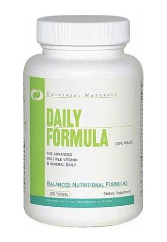 Universal NutritionDaily Formula Multivitamins - 100 Tabs