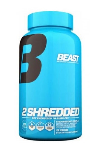 Beast Sports Nutrition2 Shredded - 120 Capsules, 60 Servings