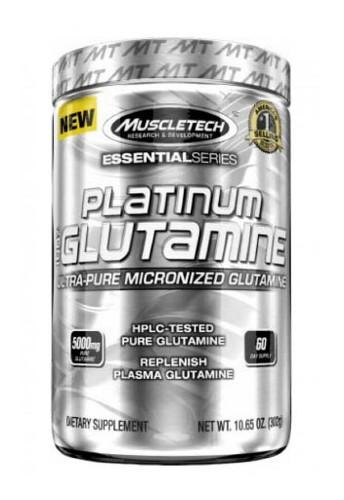 Muscletech Platinum 100% Glutamine - 60 Servings