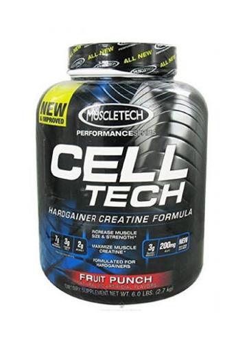 Muscletech Celltech Performance Creatine Powder - Fruit Punch, 6 Lbs