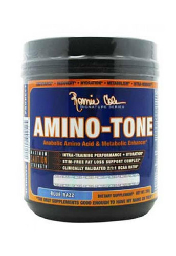 Ronnie Coleman	Amino Tone Intra Workout Powder - Blue Raspberry