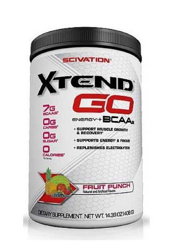 Scivation Xtend GO BCAA - Fruit Punch, 30 Servings