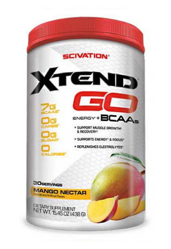 Scivation Xtend GO BCAA - Mango Nector, 30 Servings