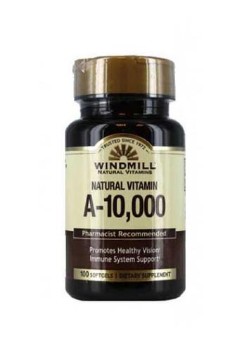 Windmill Vitamin A 10,000 IU - 100 Softgels