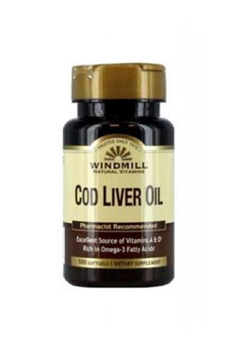 Windmill Cod Liver Oil - 100 Softgels