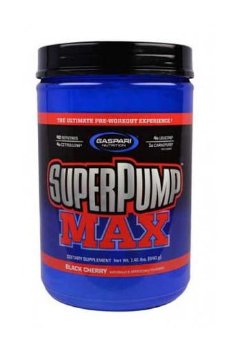 Gaspari Nutrition Superpump Max Pre-Workout Powder - Black Cherry, 640 g
