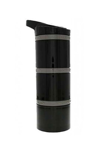 Cyclone Cup Core - 3 Layered Dry Storage Bottle - Black