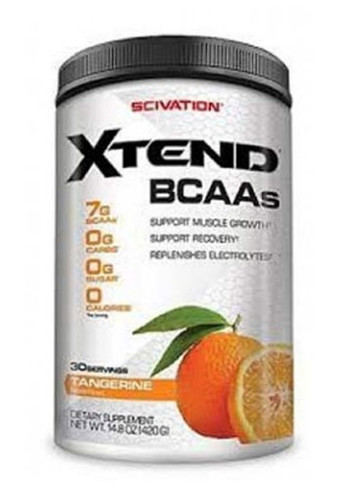 Scivation Xtend BCAA - Tangerine, 30 Servings