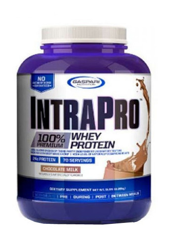 Gaspari Nutrition IntraPro Isolate Whey Protein Powder - Chocolate, 5 Lbs