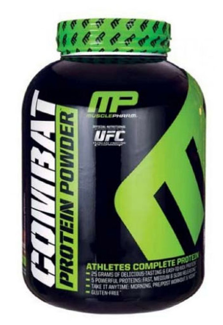 MusclePharm Combat Whey Protein Powder - Bananna Cream 4 Lbs