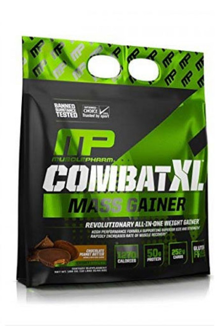 Musclepharm Combat XL Mass Weight Gainer - Chocolate Peanut Butter, 12 Lbs