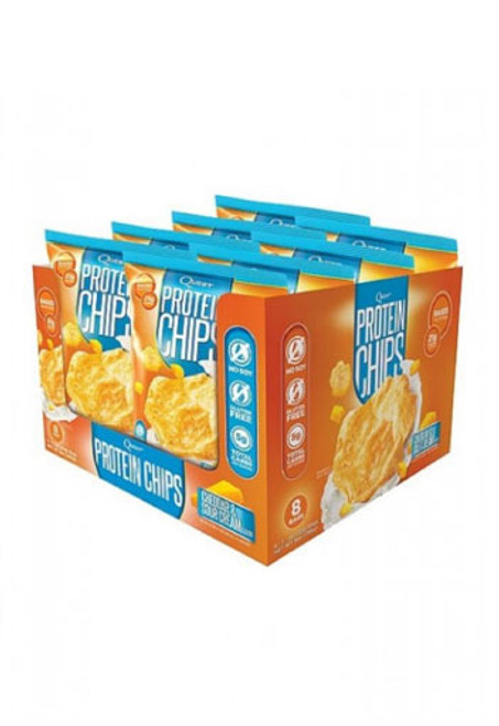 Quest Protein Chips - Cheddar & Sour Cream (Box Of 8)