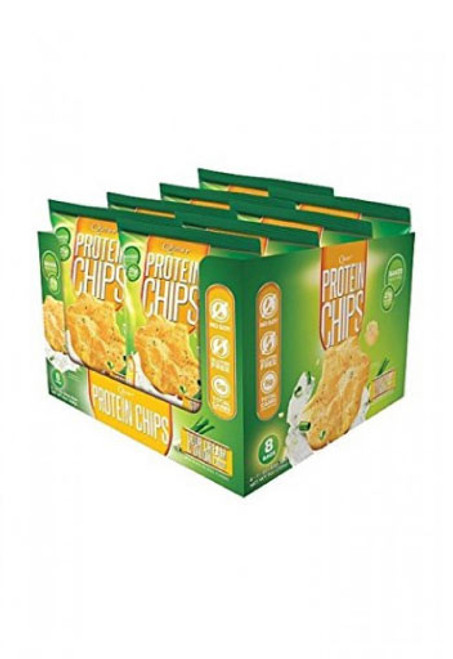Quest Protein Chips - Sour Cream & Onion (Box Of 8)