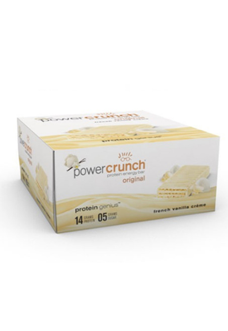 Power Crunch Protein Bar - French Vanilla Cream (12 Bars)