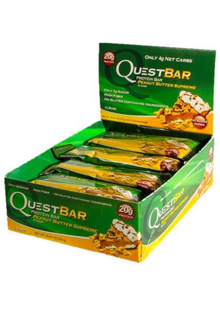 Quest Nutrition Quest Protein Bar - Peanut Butter Supreme (12 bars)