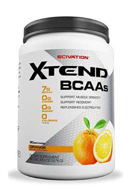 Scivation Xtend BCAA - Orange, 90 Servings