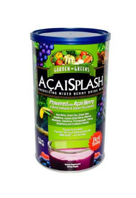 Garden Greens AcaiSplash Drink Mix 23.5 Oz