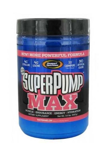 Gaspari Nutrition Superpump Max Pre-Workout Powder - Watermelon, 640 g