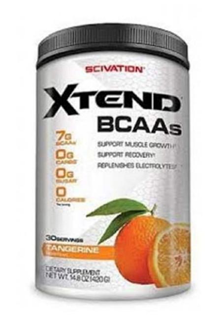 Scivation Xtend BCAA - Tangerine, 30 Servings