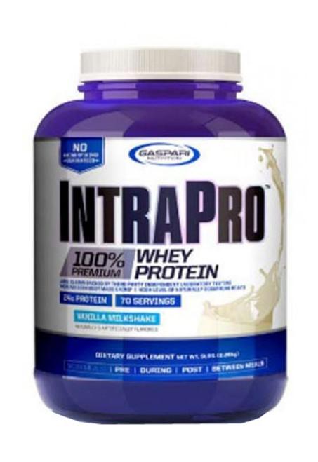 Gaspari Nutrition IntraPro Isolate Whey Protein Powder - Vanilla Milk Shake, 5 Lbs