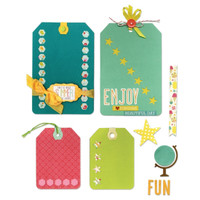 Sizzix Thinlits 12 Die Set - Happy Day 659891